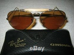 Vintage B&L Ray Ban B-20 Driving Chromax Aviator Outdoorsman CHOICE NEW with Tags