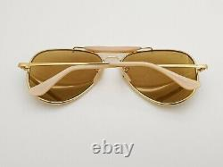Vintage B&L Ray Ban Bausch & Lomb 58mm RB50 The General W0363 Outdoorsman
