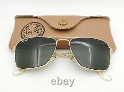 Vintage B&L Ray Ban Bausch & Lomb G15 Gray 52mm Caravan L0226 withCase