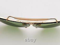 Vintage B&L Ray Ban Bausch & Lomb RB3 Green 1/10 12k GF Shooter 62mm withCase