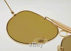 Vintage B&L Ray Ban Bausch & Lomb RB50 Ultra 62mm Shooter Sunglasses withCase