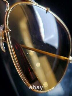 Vintage B&L Ray Ban Bausch & Lomb RB50 Ultra Polarized Bravura 62mm withCase Tag