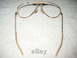 Vintage B&L Ray Ban THE GENERAL Aivator Outdoorsman 62mm NEW Complete Frame