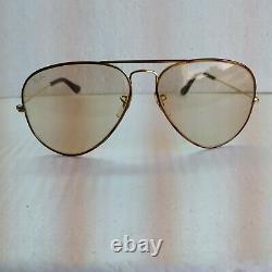 Vintage B&L Ray-Ban USA Tortuga Aviator Near Mint Changeables Sunglasses