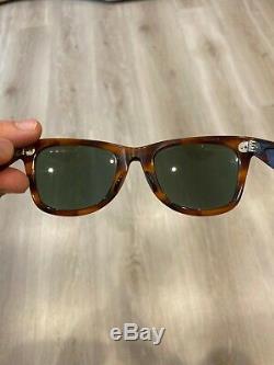 Vintage Bausch & Lomb Ray Ban B & L Havana G15 Uv Wayfarer 5022 Sunglasses Rare