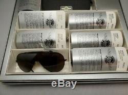 Vintage RAY BAN WINGS sunglasses SIX Pair + retail display case NEW OLD STOCK