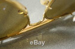 Vintage Ray Ban 50 The General B&L Aviator Arista Outdoorsman sunglasses 5814