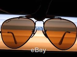 Vintage Ray Ban THE GENERAL 50 Anniversary Bausch&Lomb Precious Diamond solid